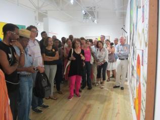 Fondation Clément, visite guidée de l'exposition Thélémaque , 2016