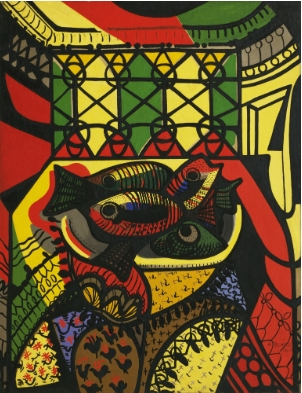 Amelia Pelaez, Fishes 1943