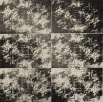 Brice Lautric Paysage N°7 Sérigraphie sur plaques offset 2014